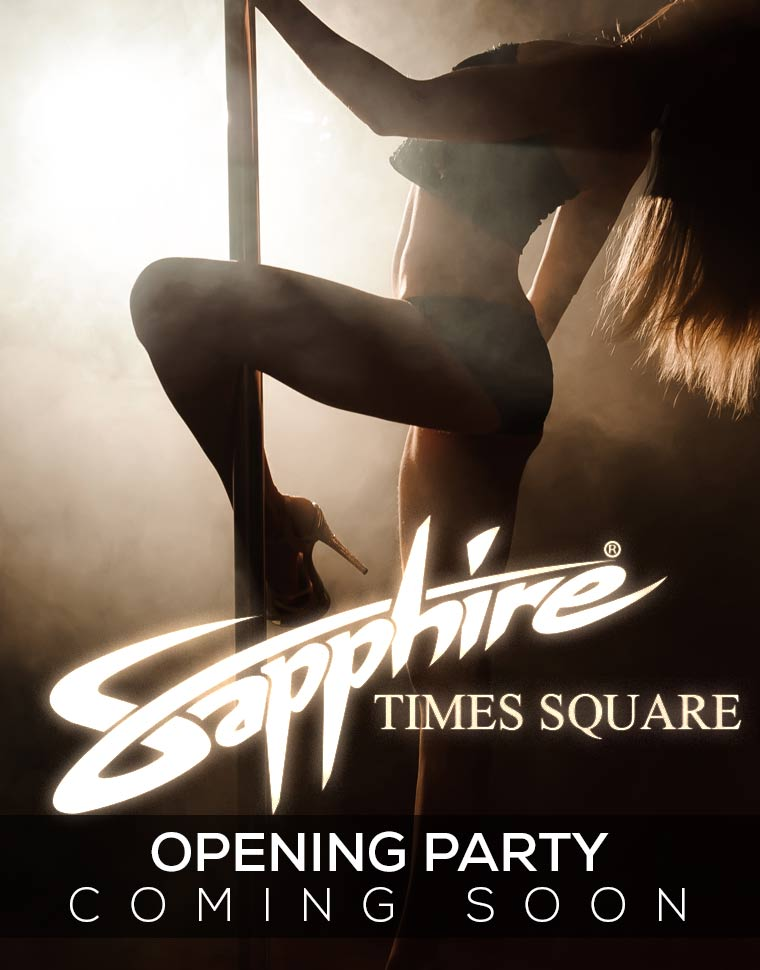 Opening Party Sapphire Times Square