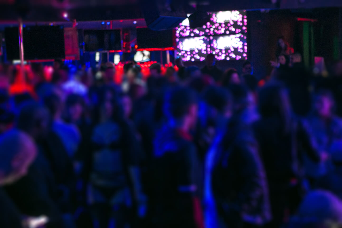 photo of full house crowd at SUNDAY SINS