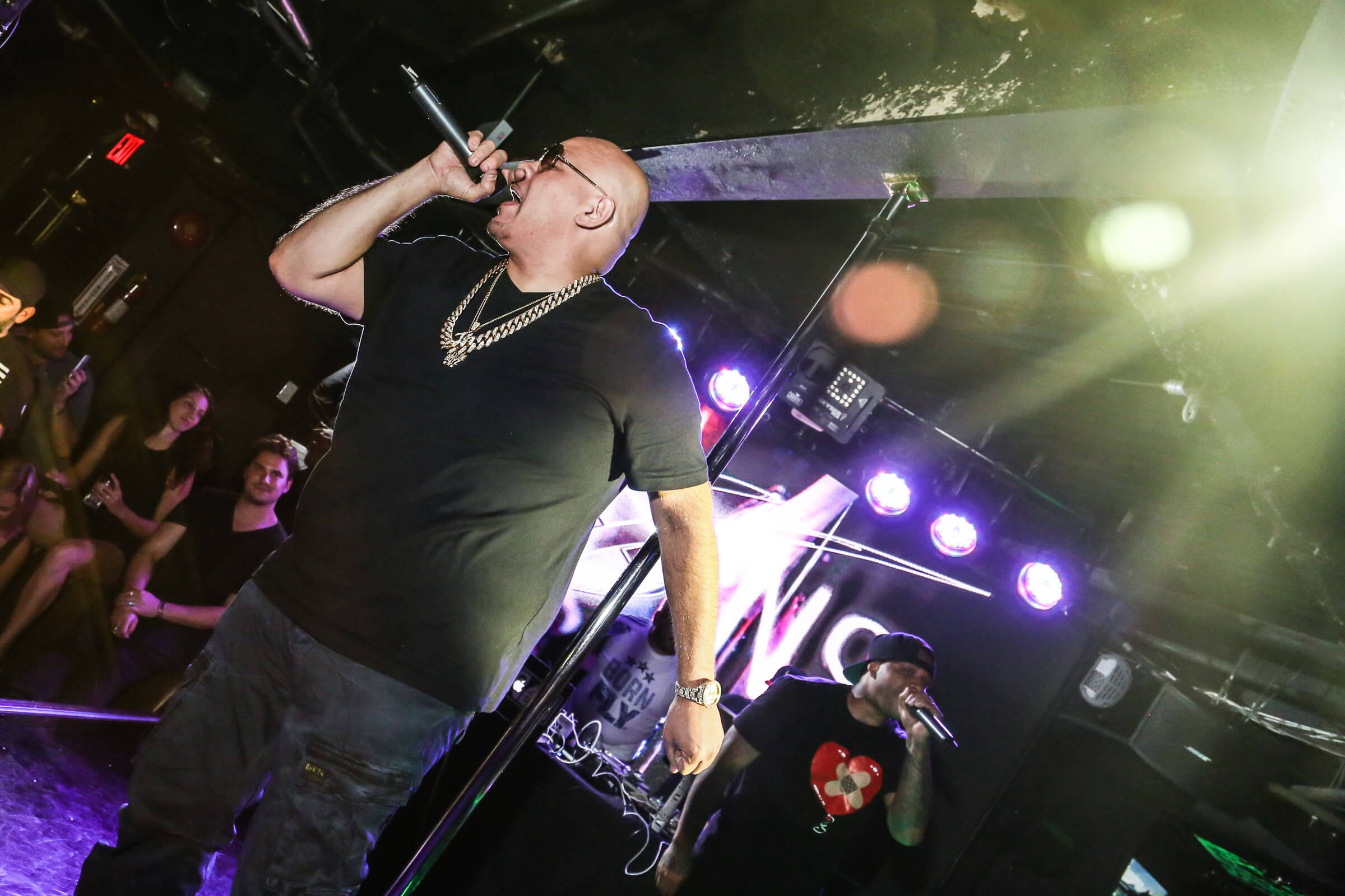 image of Fat Joe on stage at SINS SUNDAY