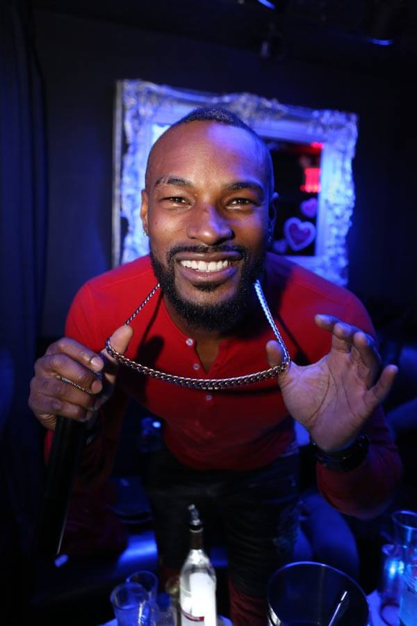 image of Tyson Beckford at SINS NYC